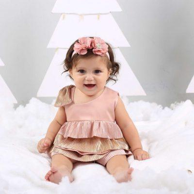 bebe-ropa-navidad-conjunto-niña-kerubines-lazo-rosado